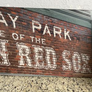 Red Sox Fenway Park Canvas Art for Sale in St. Petersburg, FL