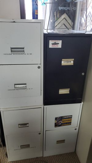 4 file cabinets $25 for all four for Sale in San Diego, CA
