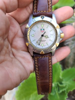 Vintage Men's Tag Heuer 1500 Professional 200m Divers Watch 955.706G Full-size for Sale in San Diego, CA