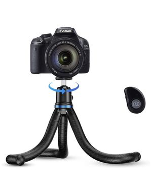 Apexel Phone Tripod, Flexible Tripod with Wireless Remote Shutter, Compatible with iPhone/Android Samsung, Mini Tripod Stand Holder for Camera GoPro/ for Sale in Avocado Heights, CA