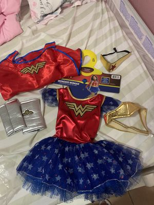 Girl Wonder Woman costume for Sale in San Diego, CA