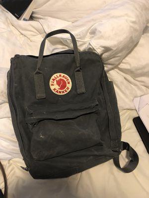 Fjallraven gray backpack for Sale in Houston, TX