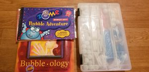 Bubble-ology bubble blowing kit!!! for Sale in Everett, WA