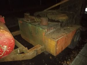 Garlock hot tar kettle single axle 8hp Honda pump motor comes with 2 mop carts and 5 mops and handles and 40' pipe for Sale in Gresham, OR