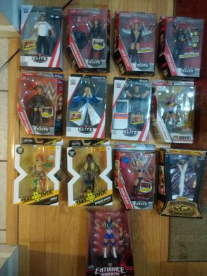 Wwe 13 figures for Sale in Lake Grove, NY