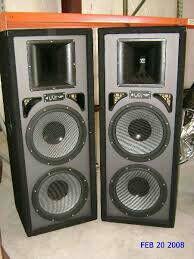 Pro audio big speakers $200 for Sale in Snellville, GA