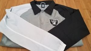 NFL Raiders windbreaker Jacket size M for Men for Sale in Paramount, CA