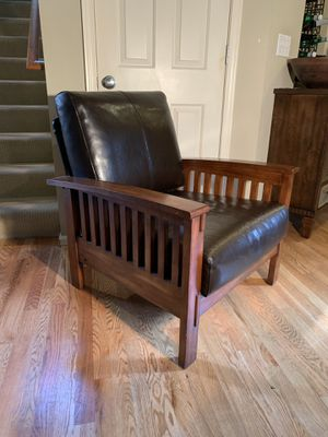Mission Oak Style Armchair for Sale in Sammamish, WA