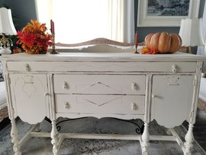 Buffet Sideboard Credenza Dresser Farmhouse Cottage Antique Vintage Mohagany 1911 Rockford Furniture Company for Sale in Corona, CA
