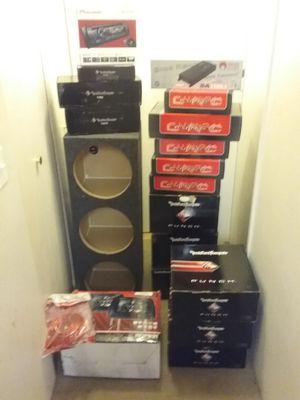 Car audio Rockford fosgate new for Sale in Renton, WA