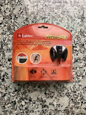 Labtec Microphone Verse-313 for Sale for sale  San Antonio, TX