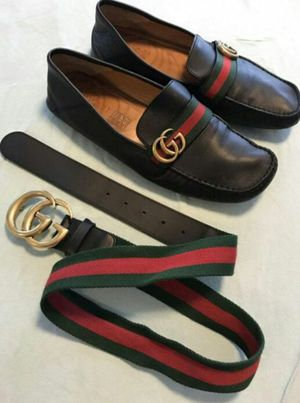 Free Gucci shoes and belt for Sale in Durham, NC