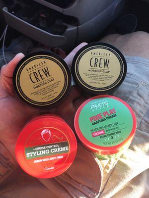 Hair gel/ molding clay for Sale in Glendale, AZ
