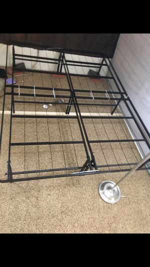 STEEL BED FRAME V{ Foldable} ** QUEEN for Sale in Fort Smith, AR