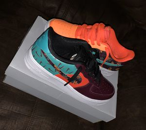 AIR FORCE 1s COLORFUL SIZE 7 for Sale in Greenville, MS