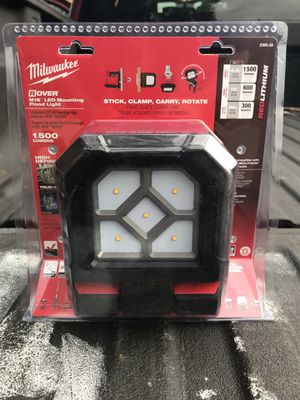 Brand New Unopened Milwaukee M18 Flood Light for Sale in Chicago, IL