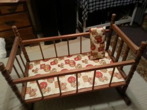 Antique toy doll crib for Sale in Stanley, VA