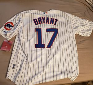 Kris Bryant Chicago Cubs cool gear spring stitched jersey size 52 for Sale in Brookfield, IL