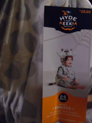 infant giraffe Halloween costume for Sale in San Diego, CA