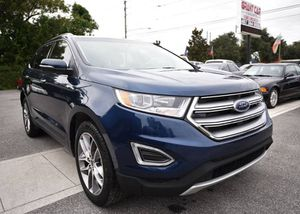 2017 Ford Edge Titanium 4DR Crossover Loaded BuyHere Pay Here for Sale in Orlando, FL