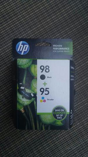 HP Black+Tricolor 98+95 for Sale in Denver, CO