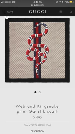 Gucci Scarf for Sale in Beverly Hills, CA