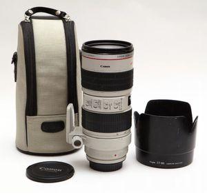 Canon lens 70-200 L f2.8 USM for Sale in Parkland, FL