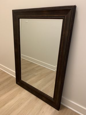 "31.5"" X 43.5"" Brown Mirror for Sale in Arlington, VA"