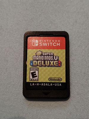 Super Mario Bros U Deluxe for Nintendo switch for Sale in Rialto, CA