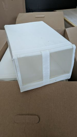 Collapsible shoe box organizers for Sale in San Jose, CA