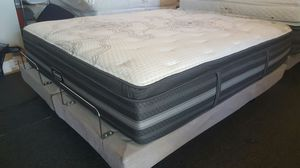California King Beautyrest BLACK pillowtop mattress set, luxury, top of the line, free delivery for Sale in Tempe, AZ