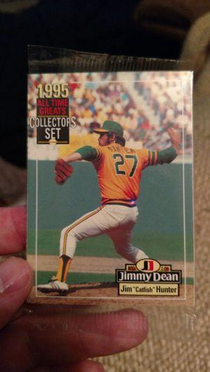 Mint unopened jim hunter 1995 card for Sale in Appomattox, VA