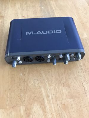 M audio fast track pro for Sale in Chicago, IL