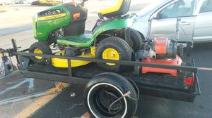 Brand New Mowers and Trailer for Sale in Abilene, TX