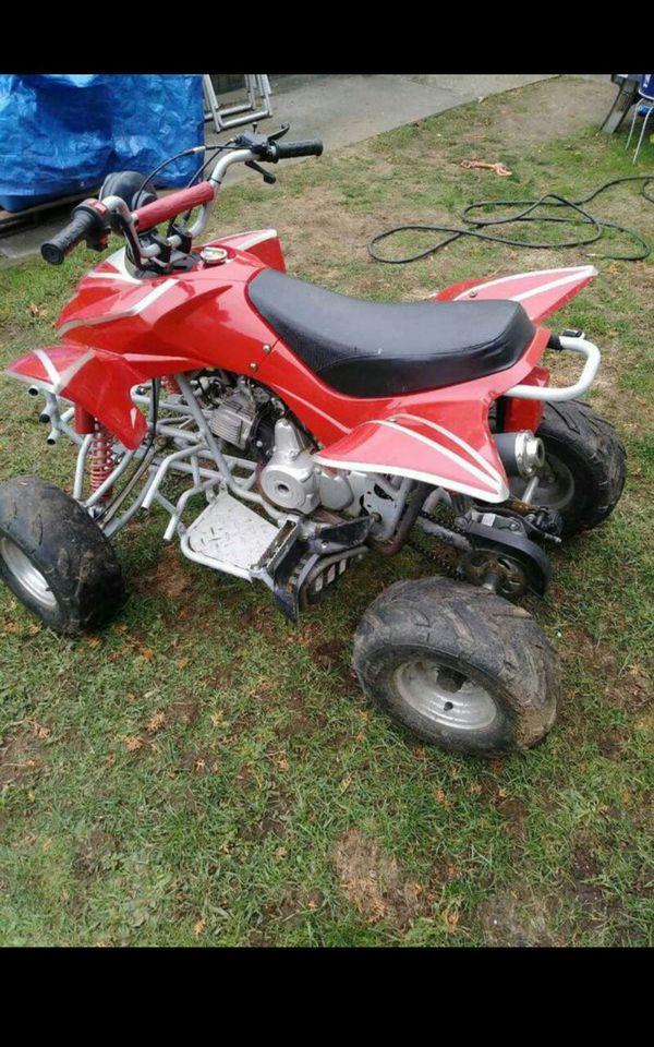 125cc taotao quad