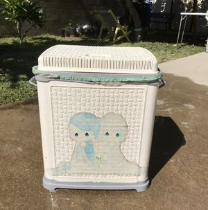 Precious moments laundry 🧺 basket for Sale in Pomona, CA