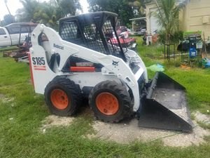 Bobcat Skid Steer model S185 turbo diesel ready to work for Sale in West Park, FL