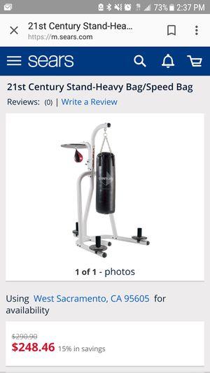 Century speed bag// heavy bag combo for Sale in Las Vegas, NV