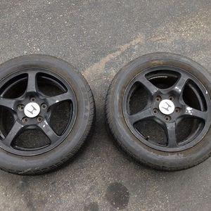 Honda S2000 S2K Factory Ap1 Wheels - Pair - Spares 5x114.3 Ap2 F20 F22 for Sale in Camp Pendleton North, CA
