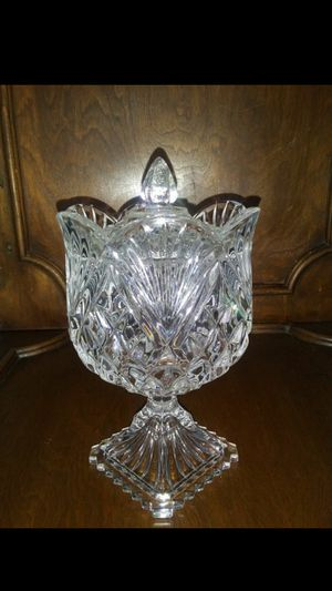 CRYSTAL TULIP - Bon Bon/Candy Dish for Sale in Raleigh, NC