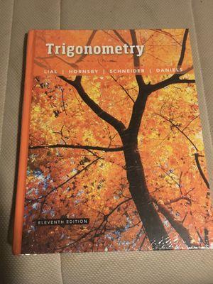 Trigonometry 11th Edition $180 OBO for Sale in Baldwin Park, CA