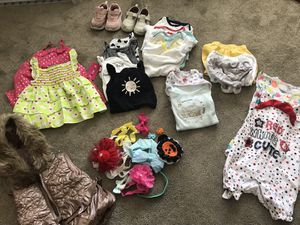 Baby girl clothes 6-12 months for Sale in Oakland, CA