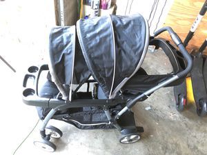 Graco Ready2Grow LX Stand & Ride Duo Double Baby Stroller for Sale in San Diego, CA