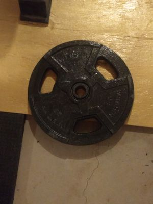 25lbs Standard Weight Plate for Sale in Shippensburg, PA