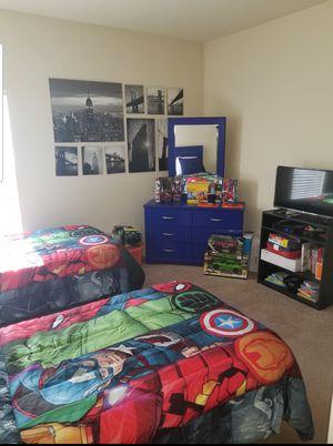 Boy's Blue Twin Bedroom Set for Sale in Tampa, FL