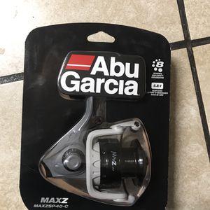 Abu Garcia MaxZ 40 (MAXZSP40-C) - Spinning Fishing Reel for Sale in Lodi, CA
