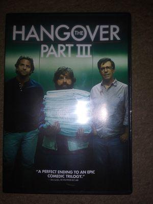 Hangover Part 3 Movie for 1.00 for Sale in Kearneysville, WV