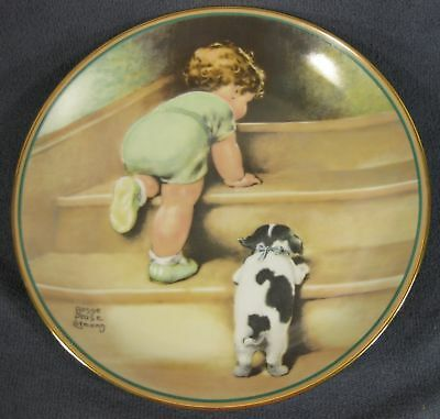 Bessie Pease Gutmann-On The Up And Up plate