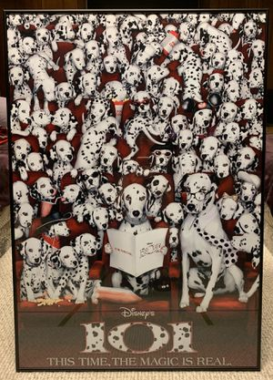 Disney 101 Dalmatians Custom Framed Movie Poster for Sale in Parma Heights, OH