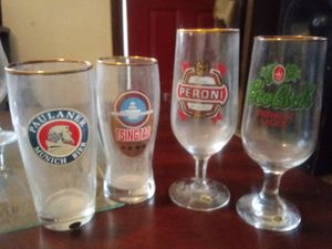 Columbia House World Breweries Collection Beer Glasses for Sale in Taylor, MI